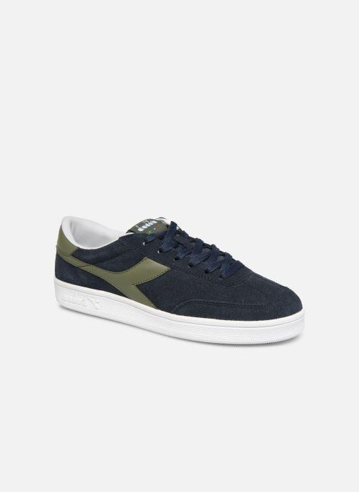 Sneakers Diadora Field Blauw detail