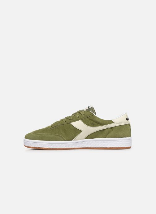 Trainers Diadora Field Green front view