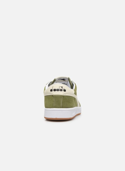 Trainers Diadora Field Green view from the right