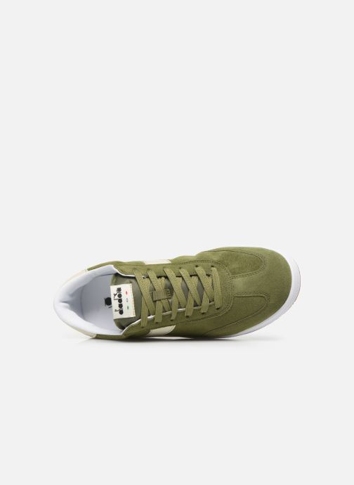 Trainers Diadora Field Green view from the left