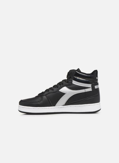 Trainers Diadora Playground High Wn Black front view