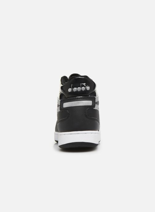 Trainers Diadora Playground High Wn Black view from the right