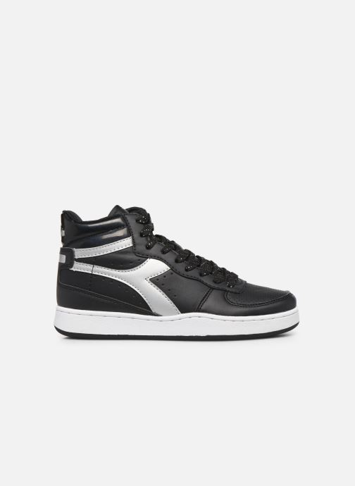 Trainers Diadora Playground High Wn Black back view