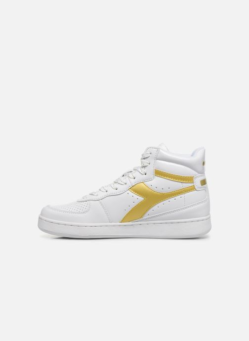 Sneakers Diadora Playground High Wn Wit voorkant