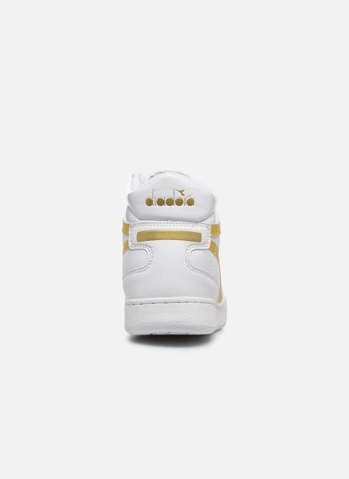 Sneakers Diadora Playground High Wn Wit rechts