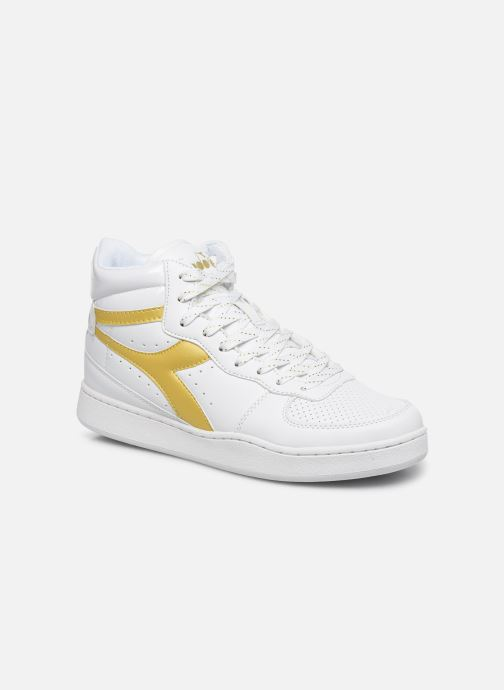 Trainers Diadora Playground High Wn White detailed view/ Pair view