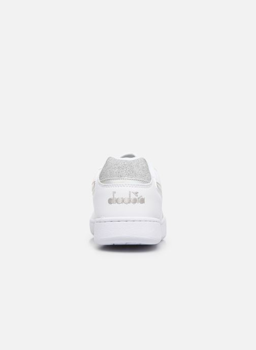 Trainers Diadora Playground Wn Shiny White view from the right