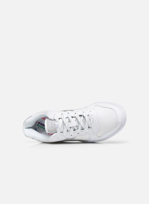 Trainers Diadora Playground Wn Shiny White view from the left
