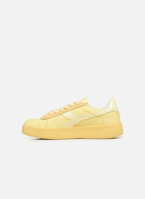 Trainers Diadora Game Step Cv Yellow front view