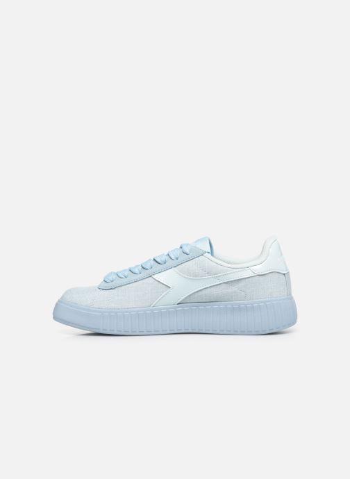 Trainers Diadora Game Step Cv Blue front view