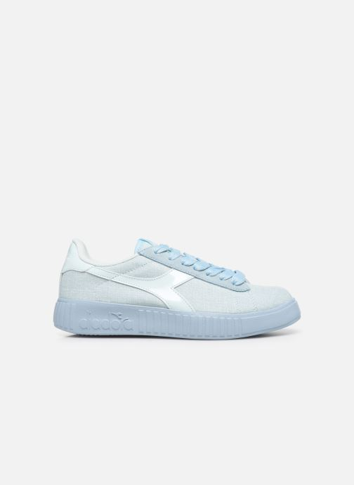 Trainers Diadora Game Step Cv Blue back view