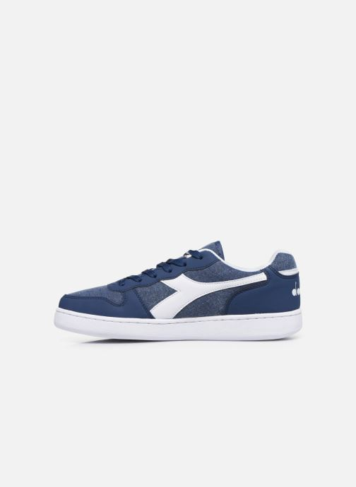Trainers Diadora Playground Cv Blue front view