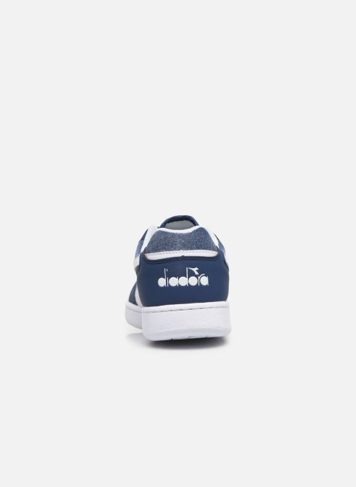 Trainers Diadora Playground Cv Blue view from the right