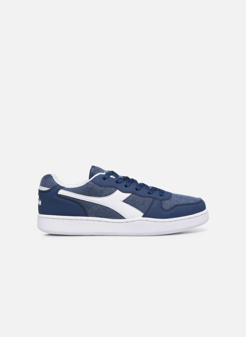 Trainers Diadora Playground Cv Blue back view