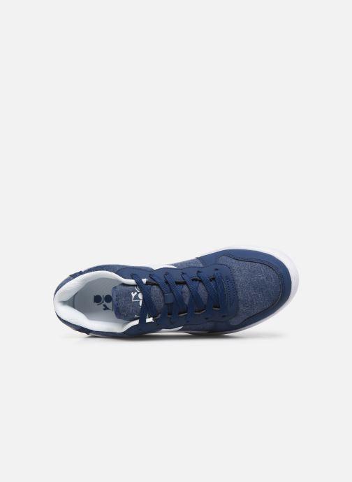 Sneakers Diadora Playground Cv Azzurro immagine sinistra