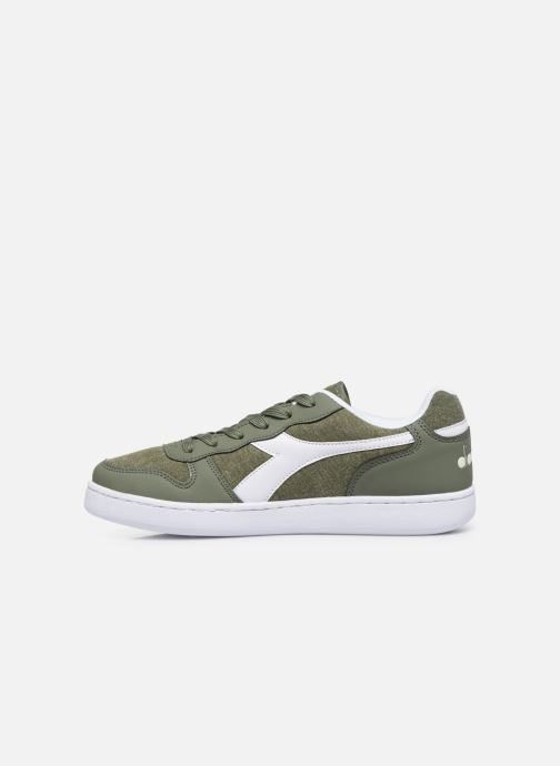 Trainers Diadora Playground Cv Green front view