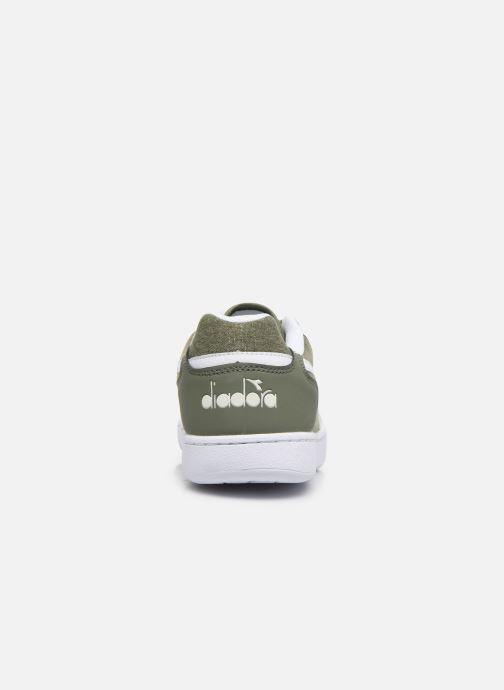 Trainers Diadora Playground Cv Green view from the right