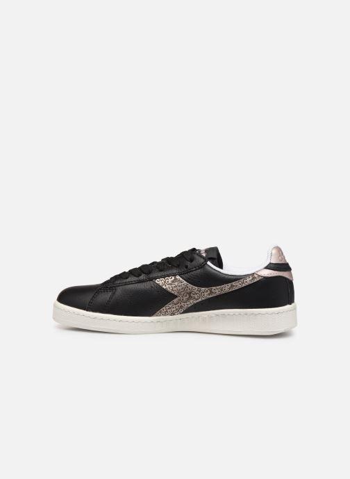 Sneakers Diadora Game Wn Zwart voorkant