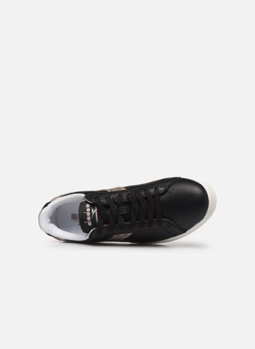 Trainers Diadora Game Wn Black view from the left