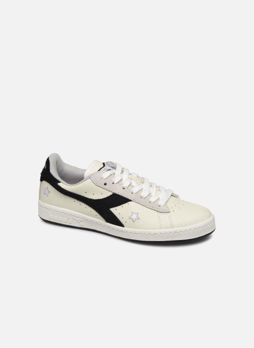 Sneakers Diadora Game Wn Hvid detaljeret billede af skoene