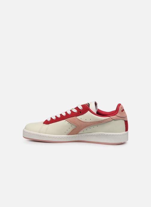 Sneaker Diadora Game Wn rosa ansicht von vorne