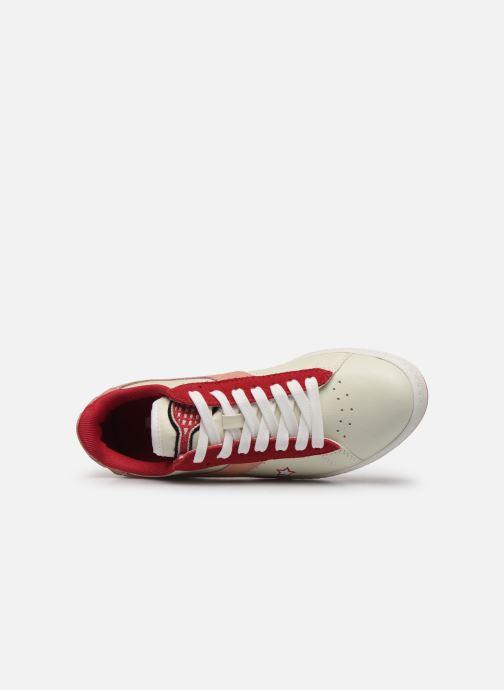 Sneaker Diadora Game Wn rosa ansicht von links