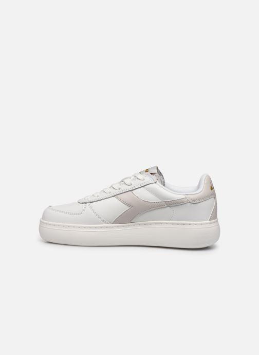 Sneakers Diadora B.Elite Wide Wit voorkant