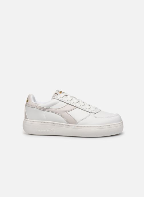 Trainers Diadora B.Elite Wide White back view