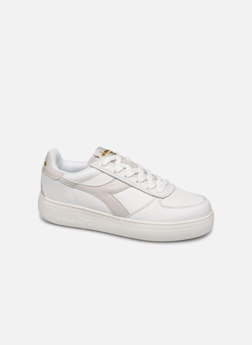 Trainers Diadora B.Elite Wide White detailed view/ Pair view