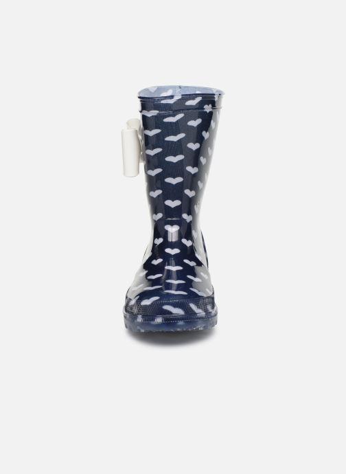 Stiefel Be Only Amour Flash blau schuhe getragen