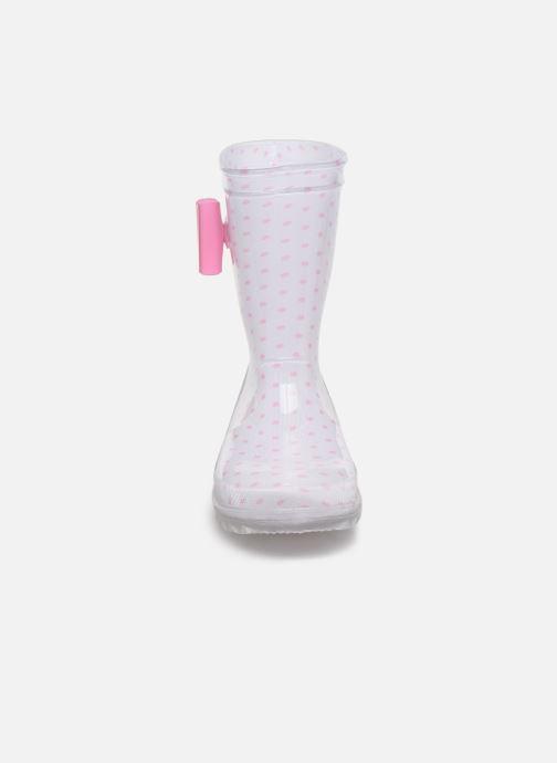 Bottes Be Only Célestina Flash Blanc vue portées chaussures