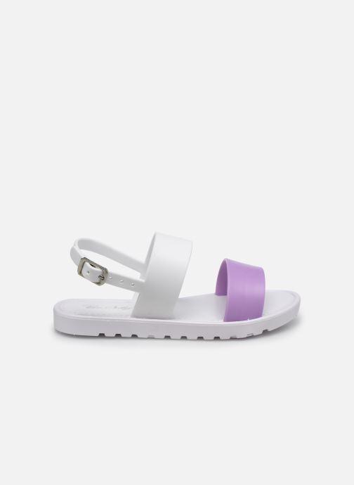 Sandales et nu-pieds Be Only Eléa Blanc vue derrière
