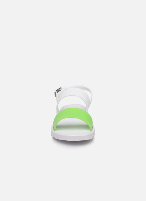 Sandales et nu-pieds Be Only Eléa Blanc vue portées chaussures