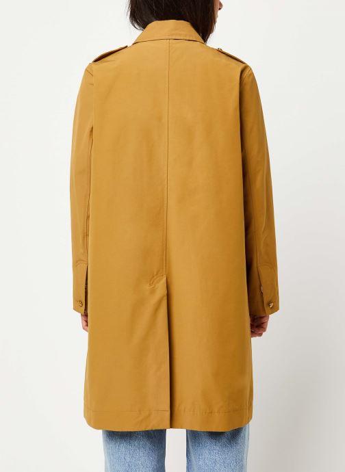 Vêtements Scotch & Soda Classic trench coat with special detailing Beige vue portées chaussures