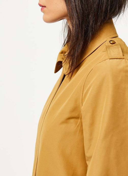 Vêtements Scotch & Soda Classic trench coat with special detailing Beige vue face