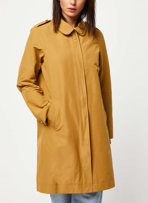Vêtements Scotch & Soda Classic trench coat with special detailing Beige vue droite