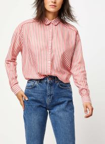 Viscose mix shirt with piping details in various p