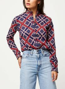 Cotton allover printed shirt