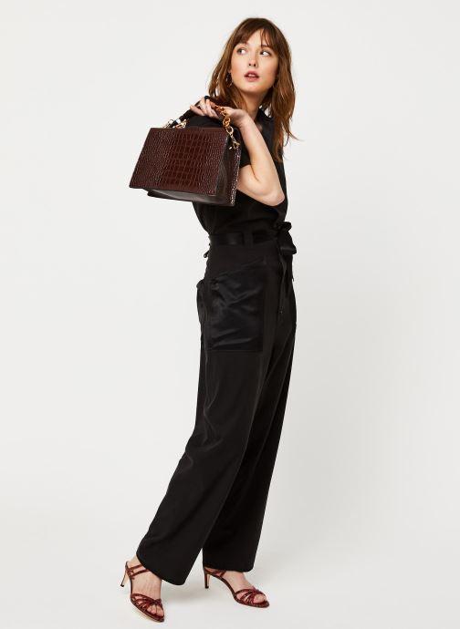 Vêtements Scotch & Soda Utility all-in-one in mixed quality Noir vue bas / vue portée sac