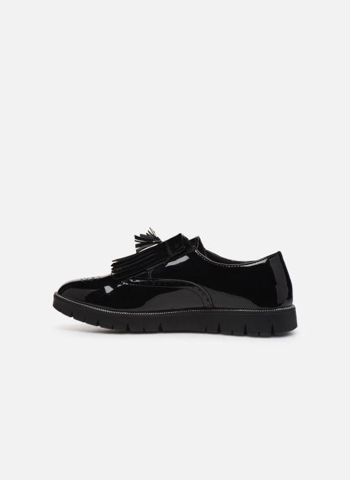 Velcro shoes Bopy Natrudi Lilybellule Black front view