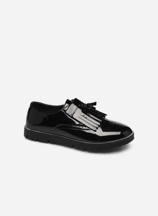 Velcro shoes Bopy Natrudi Lilybellule Black detailed view/ Pair view