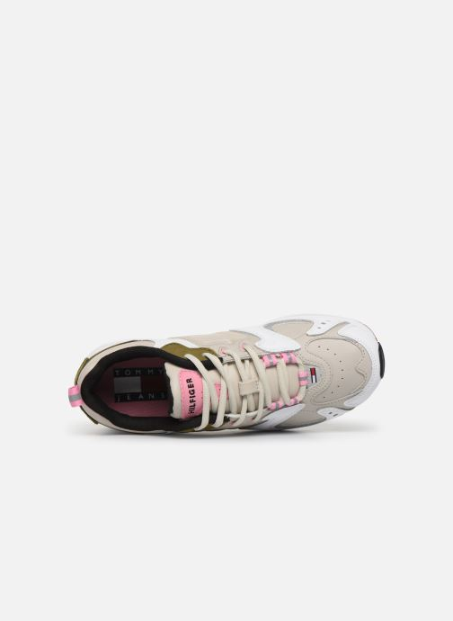 Sneakers Tommy Hilfiger WMNS HERITAGE SNEAKER Beige immagine sinistra
