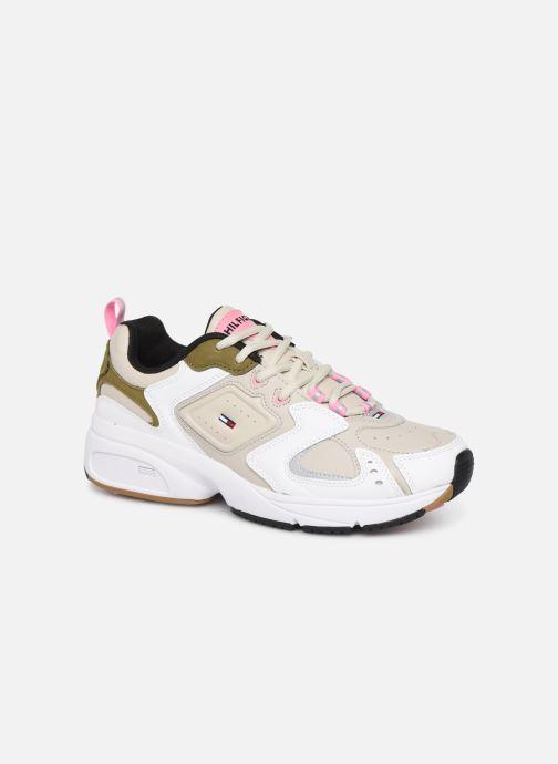 Sneakers Tommy Hilfiger WMNS HERITAGE SNEAKER Beige vedi dettaglio/paio