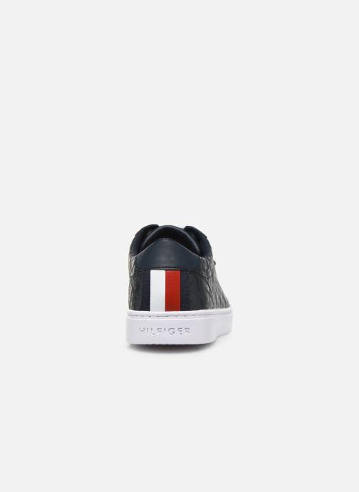 Tommy Hilfiger Jacquard Leather Sneaker (zwart) - Sneakers(412024)