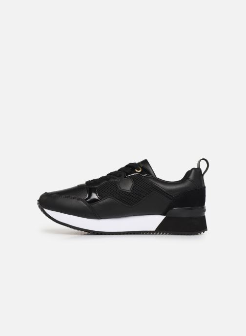 Sneakers Tommy Hilfiger TOMMY DRESS CITY SNEAKER Zwart voorkant