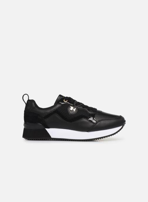 Sneakers Tommy Hilfiger TOMMY DRESS CITY SNEAKER Zwart achterkant