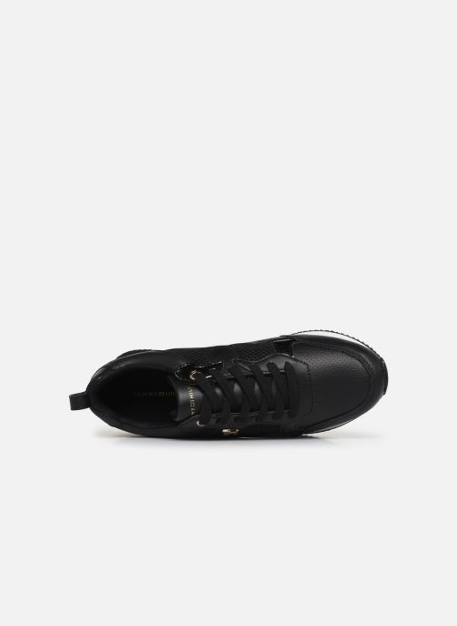 Trainers Tommy Hilfiger TOMMY DRESS CITY SNEAKER Black view from the left
