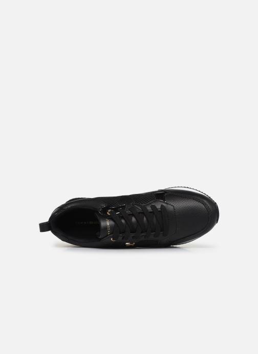 Sneaker Tommy Hilfiger TOMMY DRESS CITY SNEAKER schwarz ansicht von links