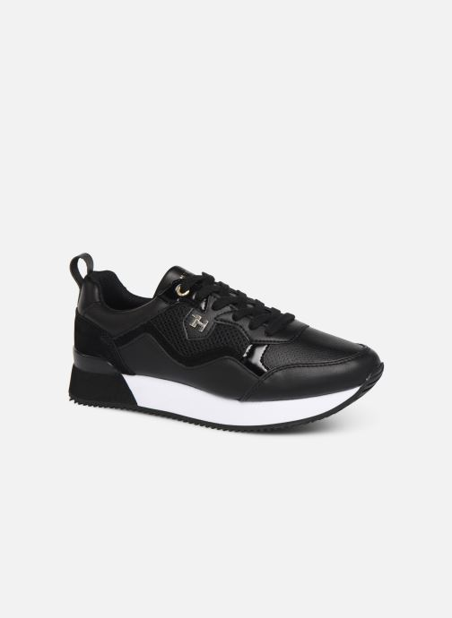 Trainers Tommy Hilfiger TOMMY DRESS CITY SNEAKER Black detailed view/ Pair view