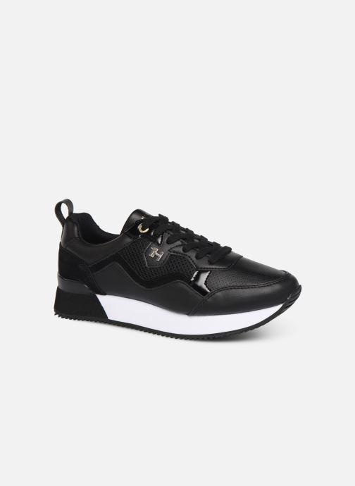 Sneakers Tommy Hilfiger TOMMY DRESS CITY SNEAKER Zwart detail